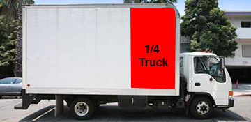 ¼ Truck Junk Removal in Hempstead, NY