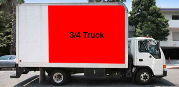 ¾ Truck Junk Removal in Hempstead, NY