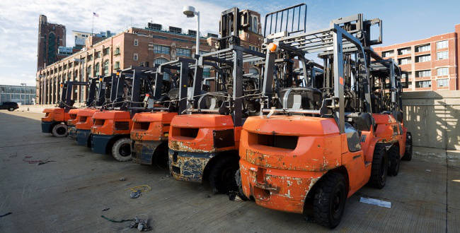 Blanchard Forklift Rental Prices
