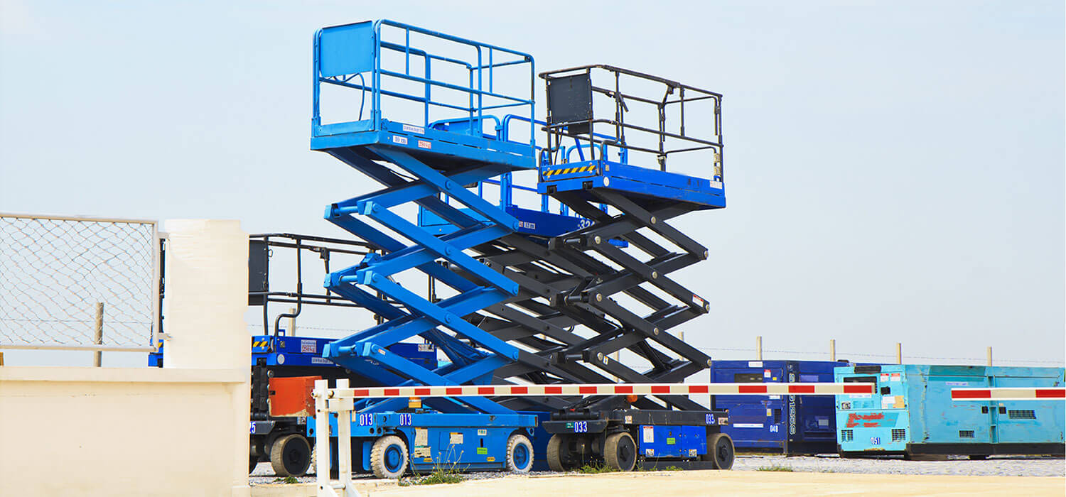 Devils Lake Scissor Lift Rental